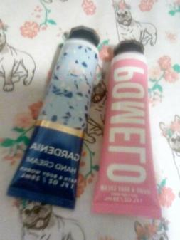 2 bath and body works hand creams
