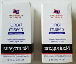 2 packs - Neutrogena Norwegian Formula Fragrance Free Hand C