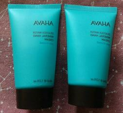 2 x AHAVA Dead Sea Water Mineral Hand Cream in Sea Kissed 40
