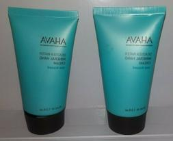 2x Ahava Deadsea Water Mineral Hand Cream Sea-Kissed 40ml 1.