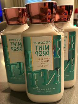 3 cans bath body works coconut mint