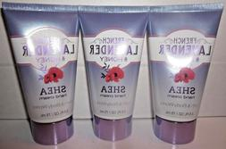 3 creams Bath & Body Works shea Hand Cream 2.5 oz French Lav