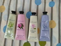 4 pieces of Crabtree & Evelyn hand cream