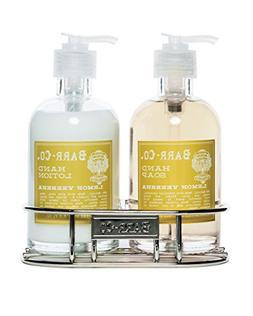 Barr Co Lemon Verbena Hand & Body Duo with Caddy by k hall d
