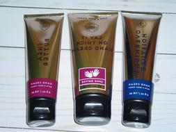 BATH & BODY WORKS HAND CREAM SHEA BUTTER,OVERNIGHT MOISTURE,