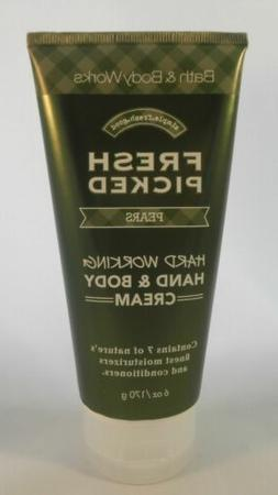 BATH & BODY WORKS Hard Working Hand & Body Cream - FRESH PIC