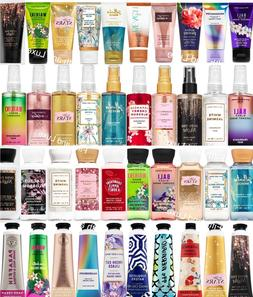 Bath & Body Works Travel Body Cream, Lotion, Mist, OR Shower