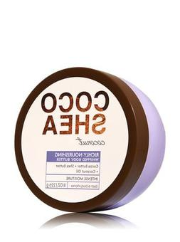 Bath & Body Works CocoShea Coconut Whipped Body Butter 8 Oz.