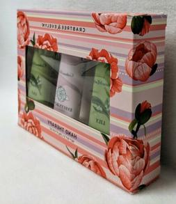 CRABTREE & EVELYN Hand Therapy Gift Set Lily and Evelyn Rose