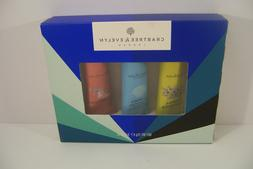 Crabtree & Evelyn Hand Therapy Gift Set Lotion Cream 3 Scent