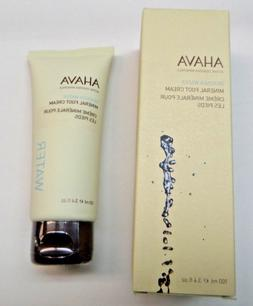 AHAVA DEADSEA MINERALS DEADSEA WATER MINERAL FOOT CREAM 3.4