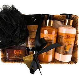 Camille Beckman Essentials Gift Basket, Tuscan Honey, Glycer