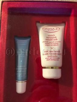 Clarins gift set -  2 items Hands & Nail Treatment and Lip B