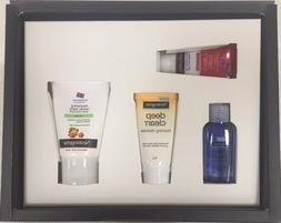 Neutrogena Gift Set 4 pcs hand cream,cleansing oil, foaming