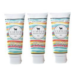 Dionis Goat Milk Hand Cream 3 Piece Travel Gift Set - Sea Tr