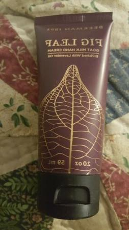 Beekman 1802 Goat Milk Hand Cream-FIG LEAF- NEW&TRAVEL SIZE