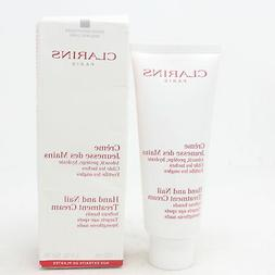Clarins Hand And Nail Treatment Cream  3.4oz/100ml New With