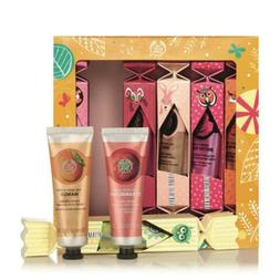 The Body Shop Hand Cream Crackers Gift Set