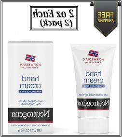 Neutrogena Hand Cream Norwegian Formula Fragrance Free 2oz