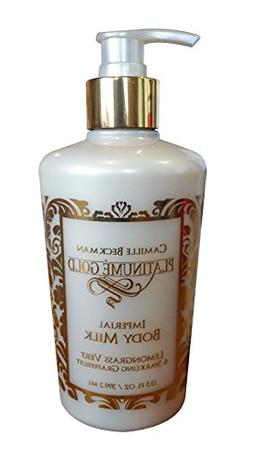 Camille Beckman IMPERIAL BODY MILK  13.5 oz Lemongrass Vert