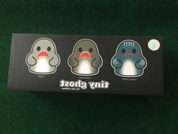 IN HAND Bimtoy Tiny Ghosts 3 Inch Figures Sharks 3 Pack 400