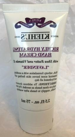 kiehl s richly hydrating lavender scented hand