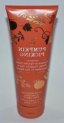 1 BATH & BODY WORKS PUMPKIN PICKING ULTRA SHEA BODY CREAM HA