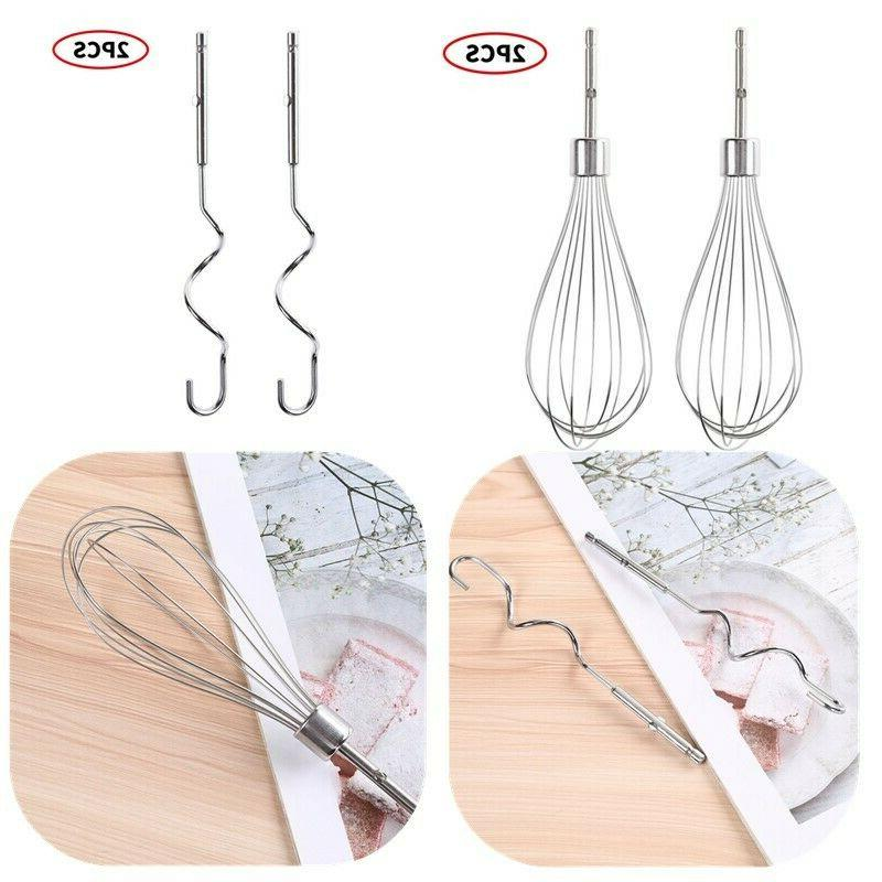 2x Mixer Egg Whisk