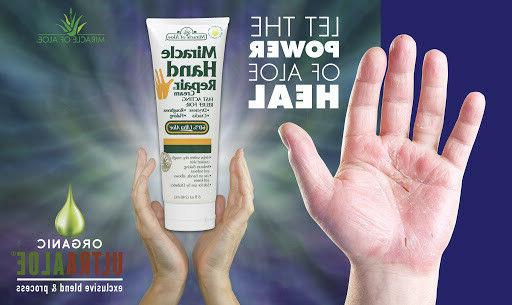 Miracle Hand Repair 8 tube 60% UltraAloe Pack