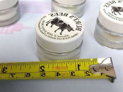 Burt's Hand Cream Travel Jars 0.25 - Lot Total