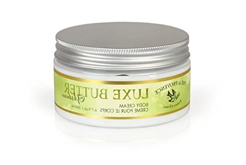 Pre De Provence Luxe Body Butter, Green Tea, 6.75 Fluid Ounc
