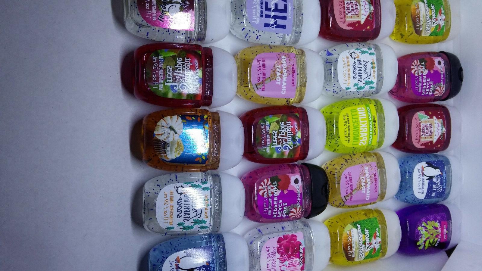 Bath and Works Pocketbac Hand Grab Bag Bundle 20
