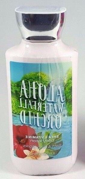 bath body works aloha waterfall orchid body