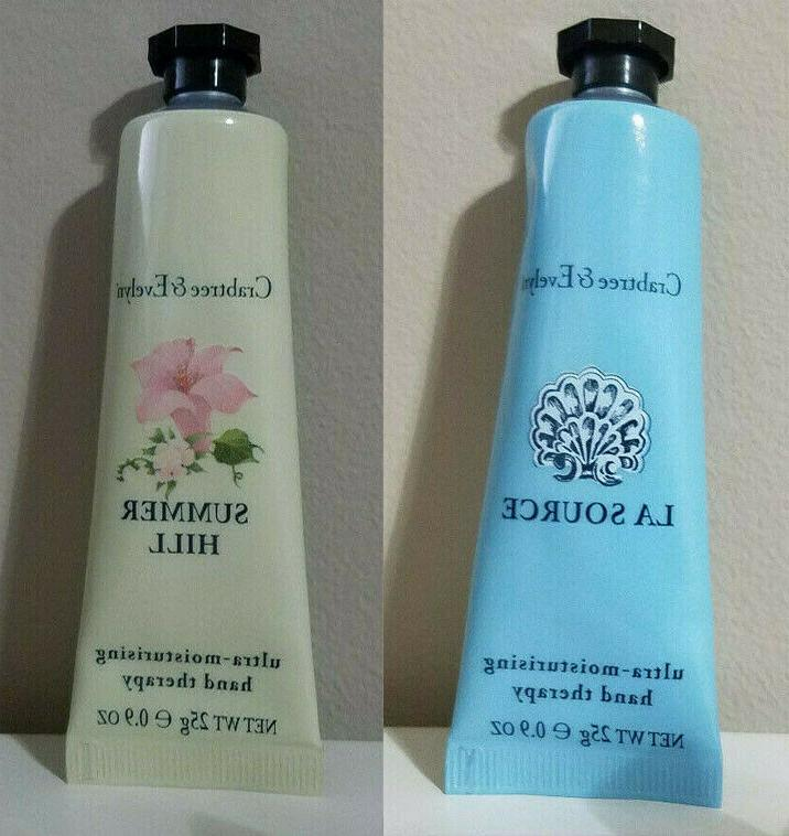 crabtree and evelyn ultra moisturizing hand therapy