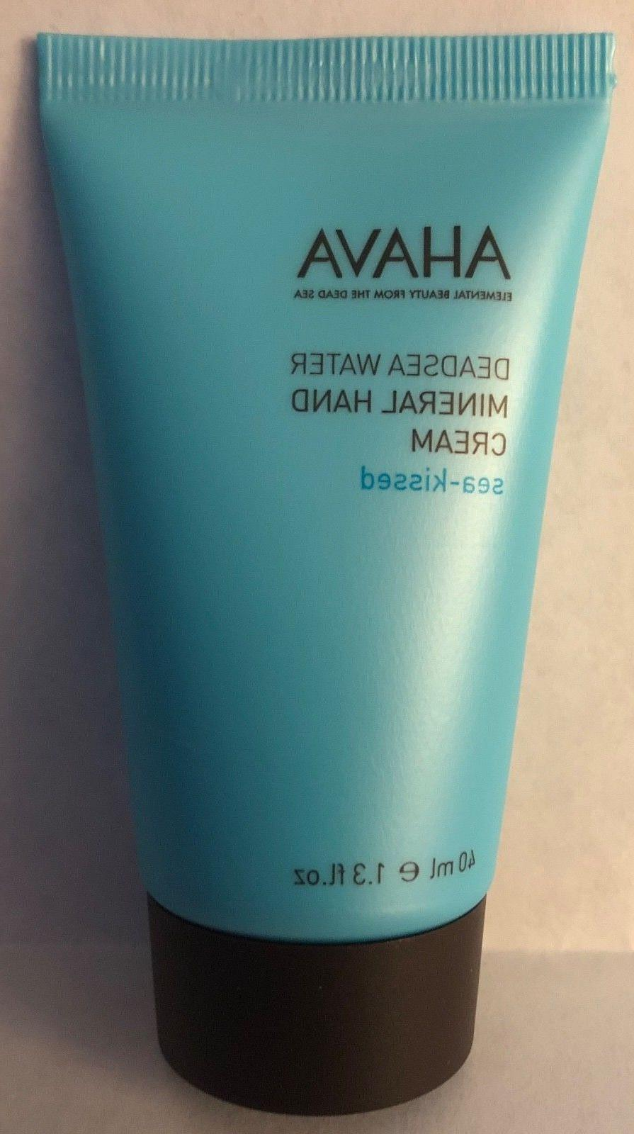 deadsea water mineral hand cream sea kissed