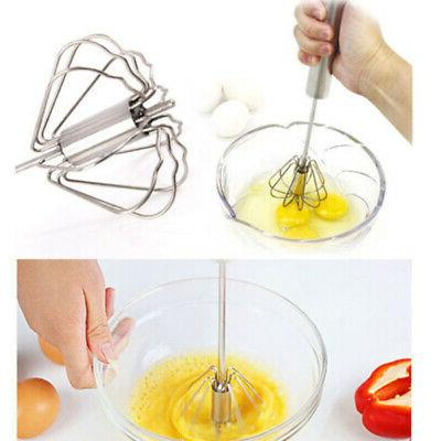 EGG BEATER STAINLESS STEEL MANUAL MIXER