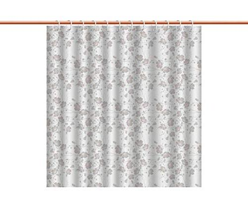 fabric shower curtain polyester