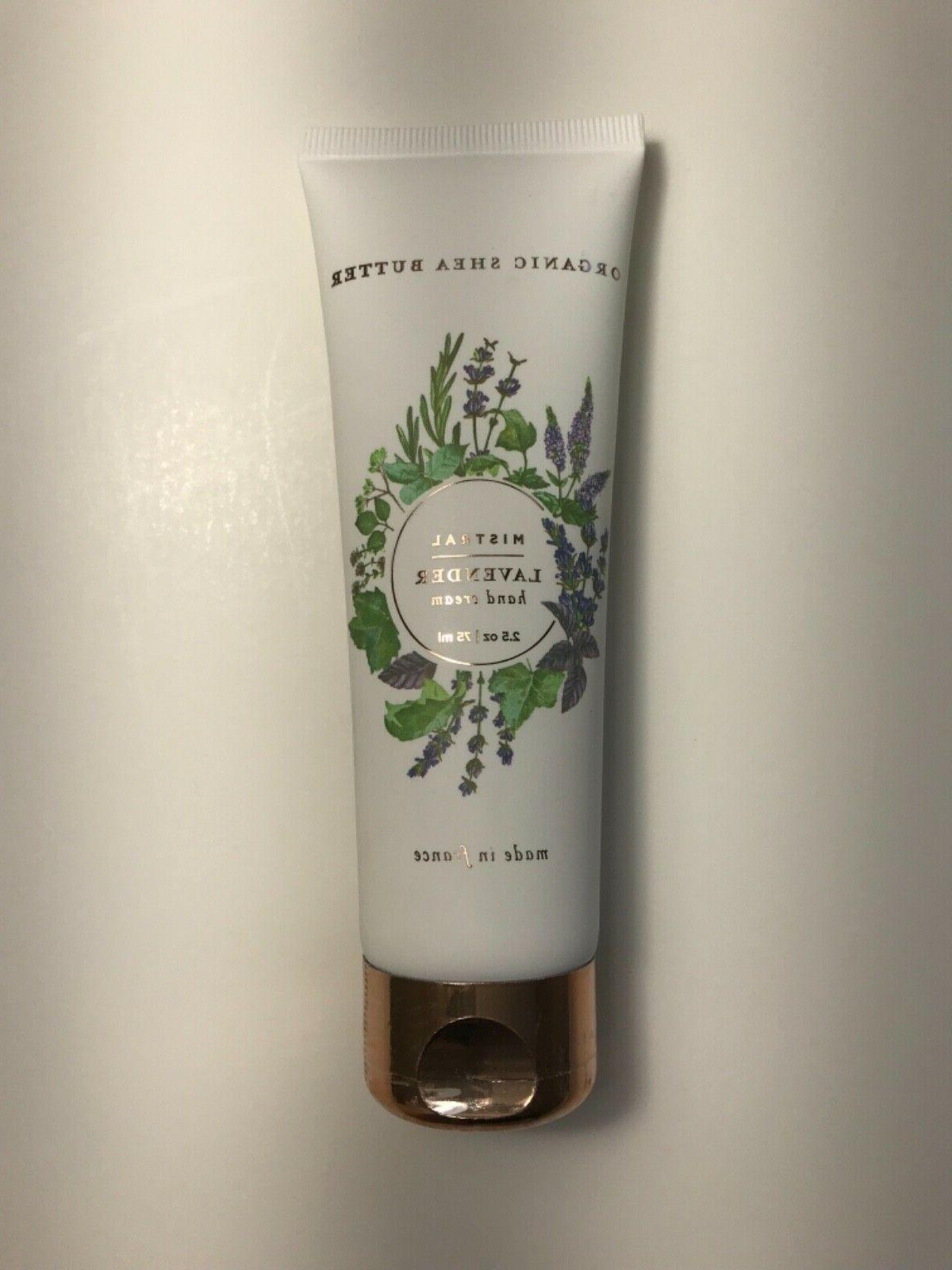 floral exquisite hand cream in lavender 75ml