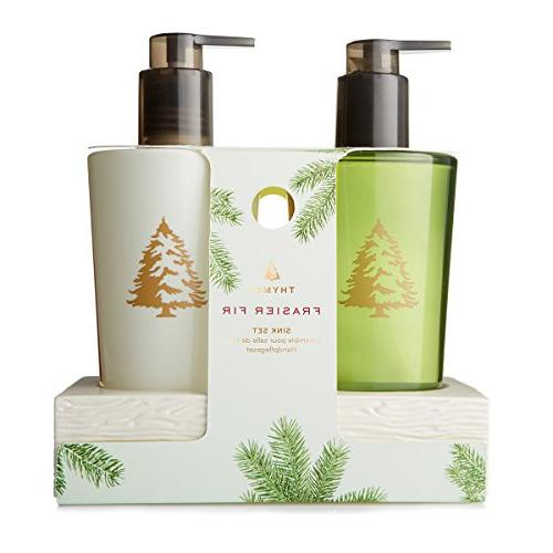 Thymes Frasier Heritage Home Care Sink Set Caddy