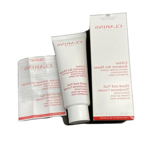 hand and nail treatment cream softens hands