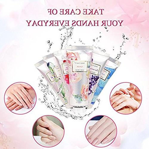 Hand Cream Gift BODY Lotion Moisturizing Shea Butter, 12pc Travel-size, Idea for