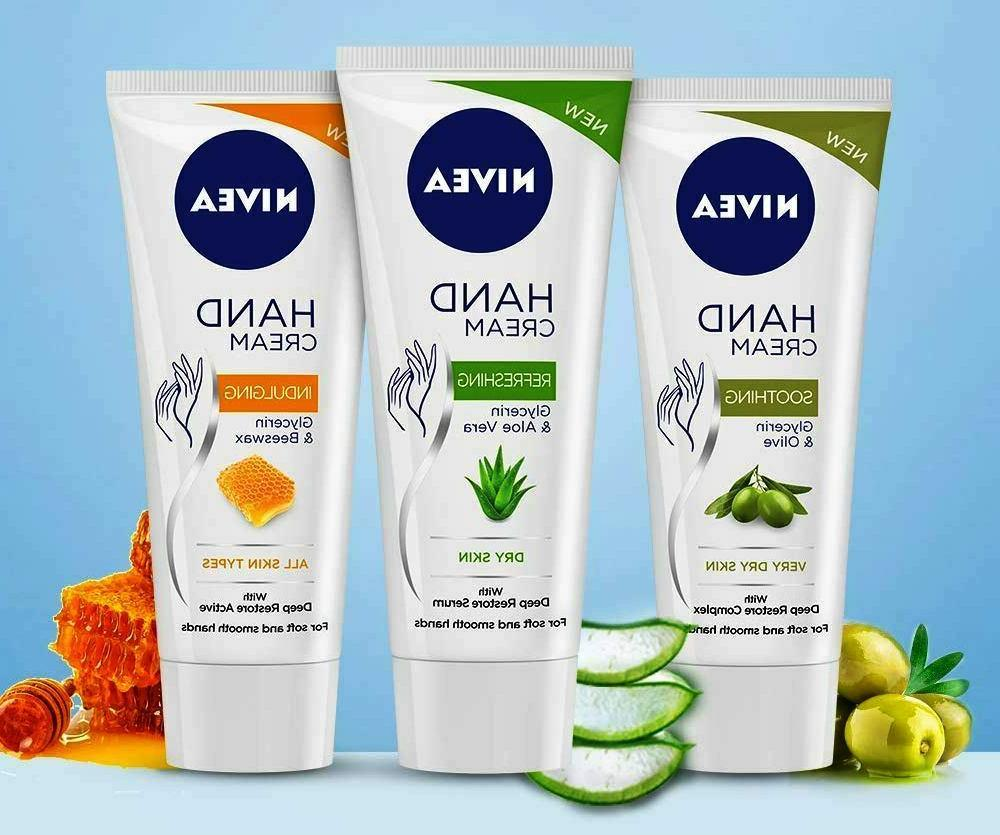 hand cream indulging refreshing soothing with deep