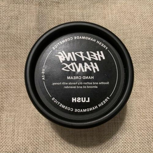 Lush Helping Hands Cream Lotion New