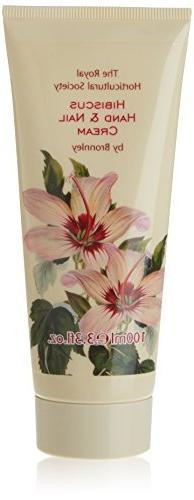 Bronnley Hibiscus Hand and Nail Cream Tube 100ml by Bronnley