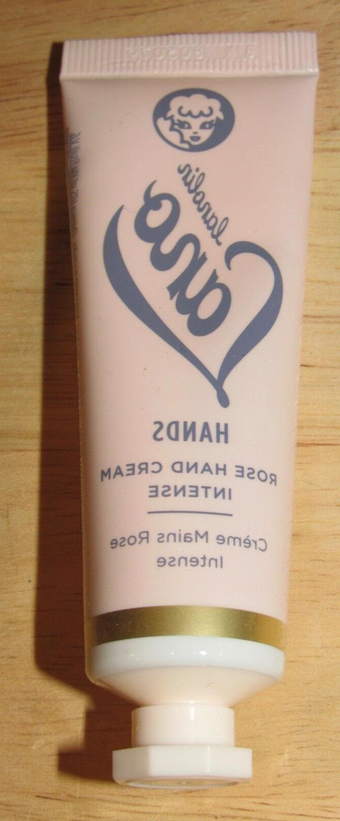 lano rose hand cream intense hands travel