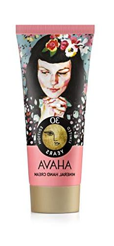 AHAVA 100 ml Mineral Hand Cream, 3.4 Fl Oz