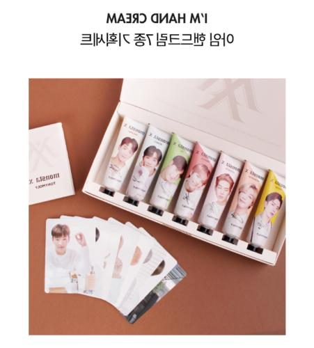 monsta x hand cream 7pcs set usa