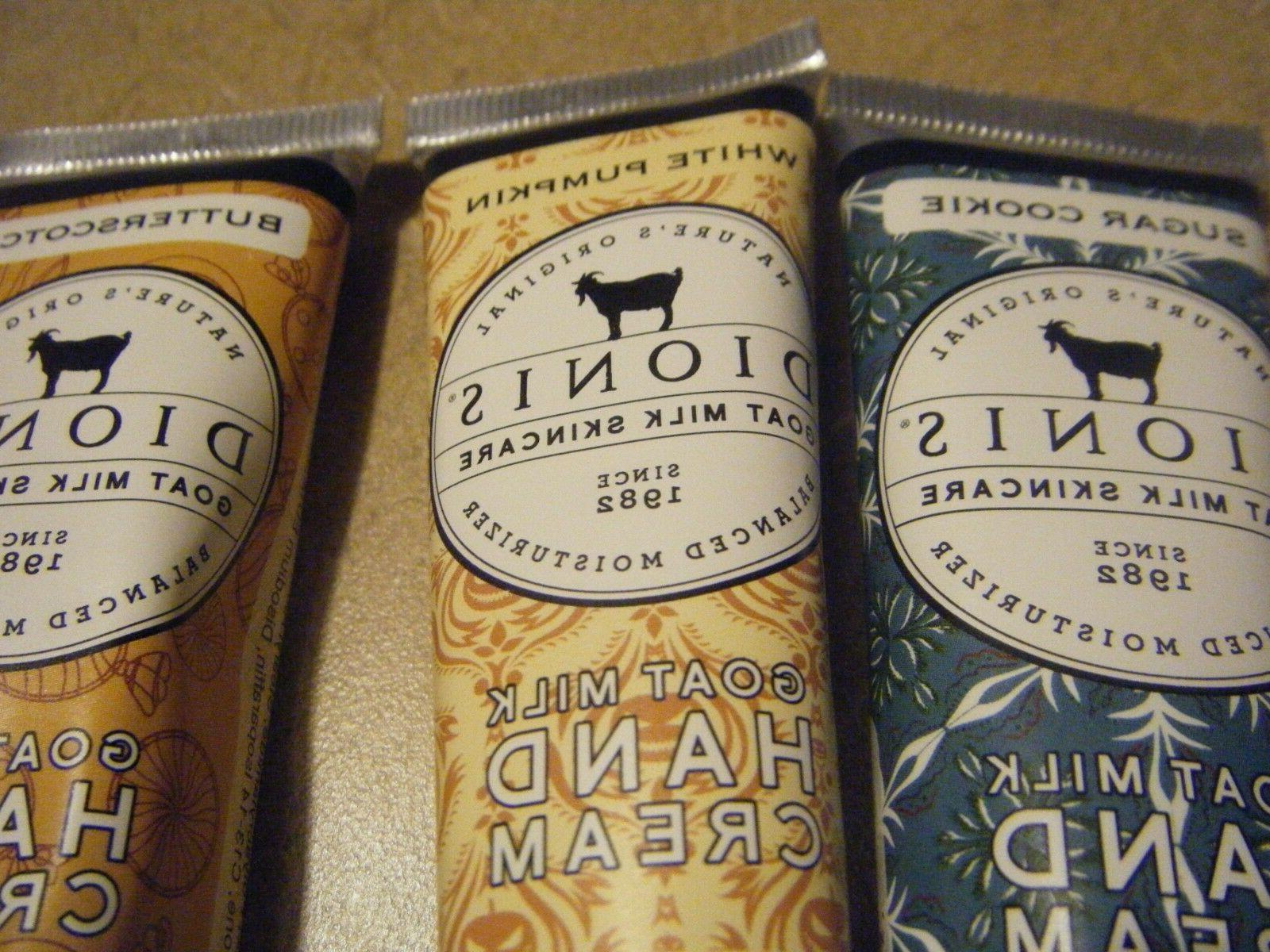New Dionis Goat set of 3 scents - each fl