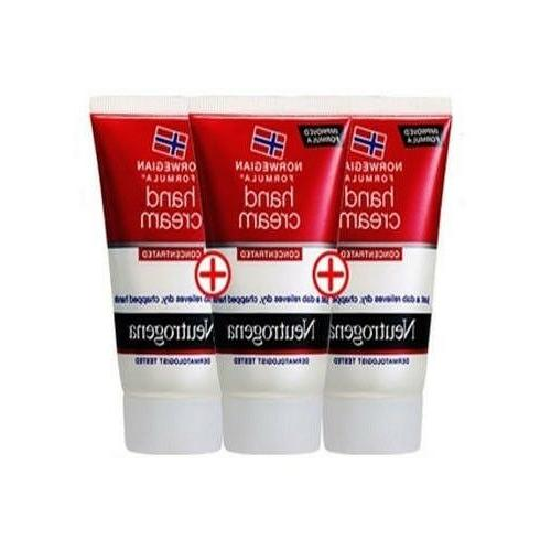 norwegian formula hand cream concentrated 3ea 56g