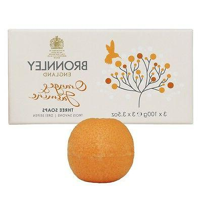 orange and jasmine 3 x 100g soap